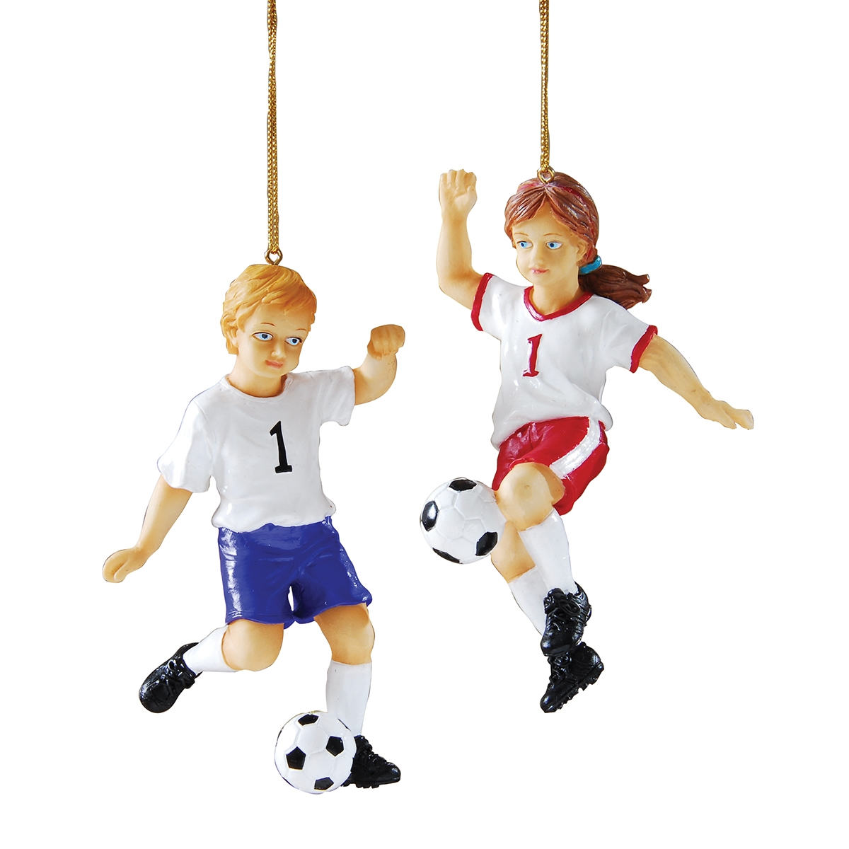 Football player ornament - Young Soccer Player Ornament A 2