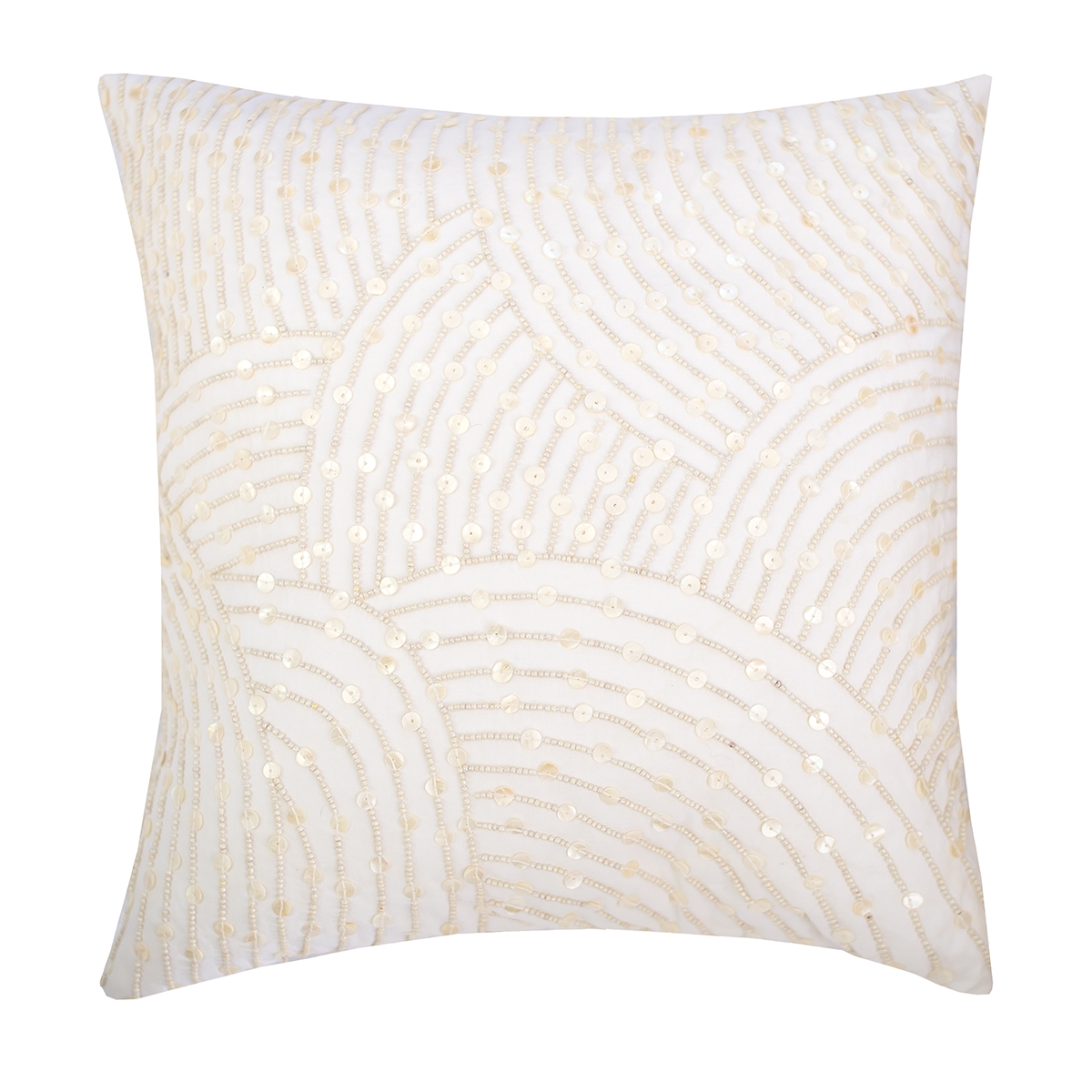 Decorative Pearl Pillow : Pearl Arc Pillow C&F Home