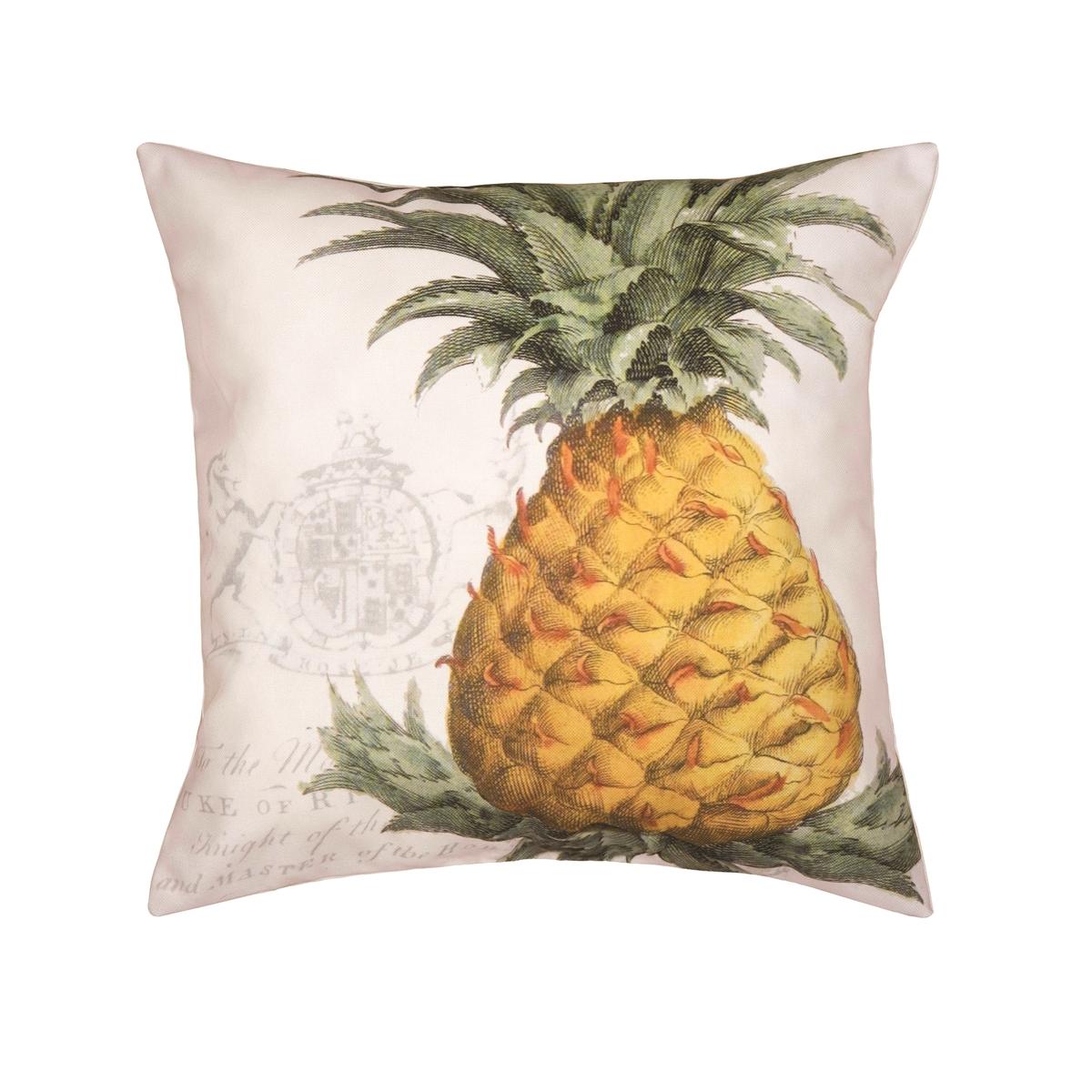 aloha hawaiian pineapple and pride pillow tropical pin
