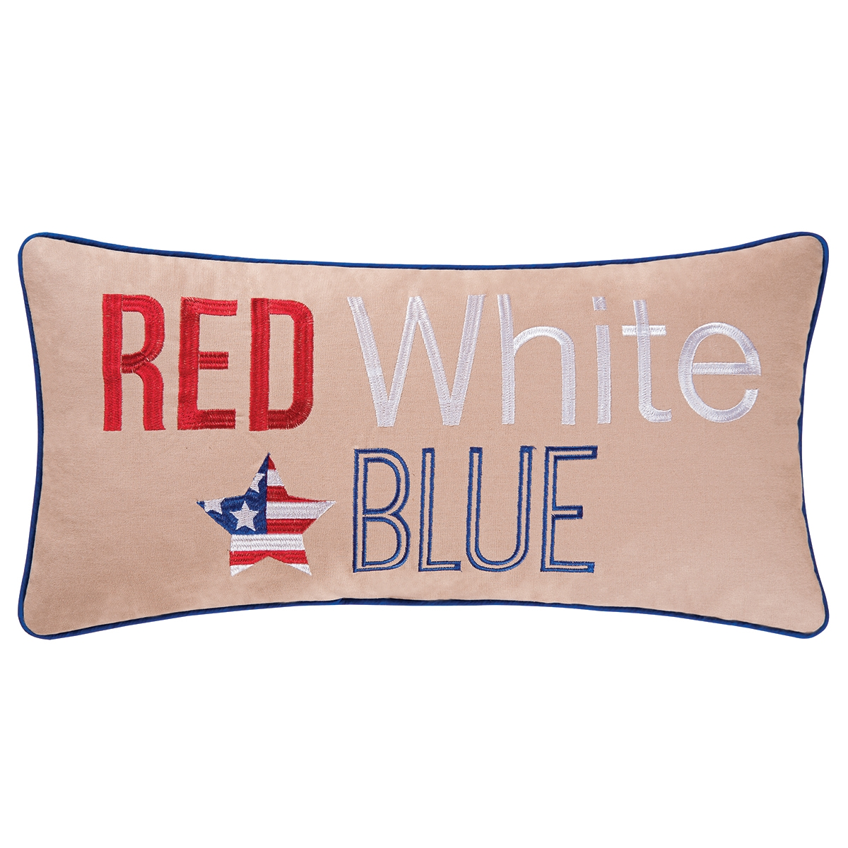 Red White Blue Pillow CF Home