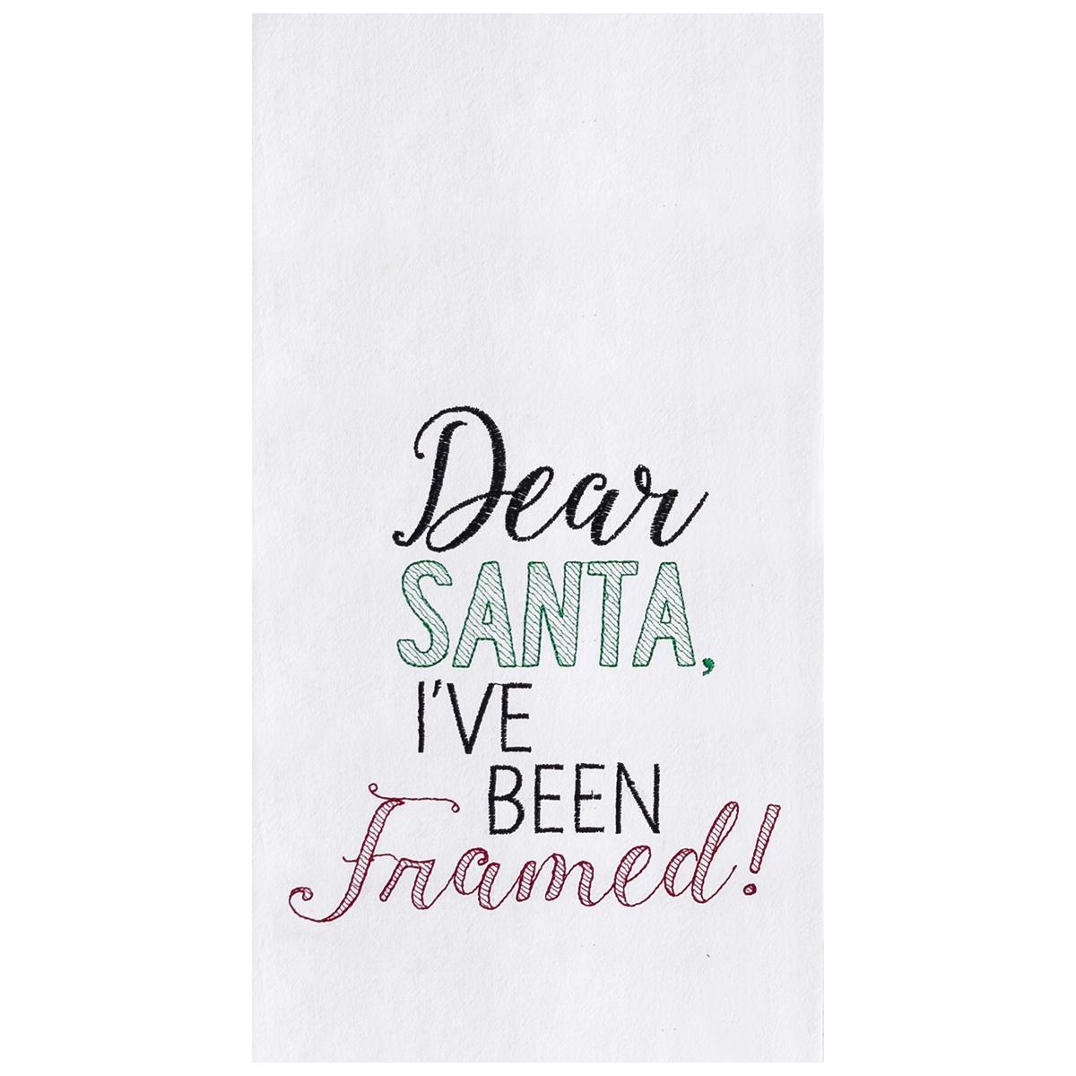 I\'ve Been Framed Towel   C&F Home