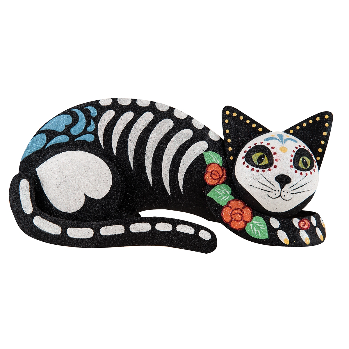 Christmas Home Decor Catalogs Seated Day Of The Dead Cat C Amp F Home
