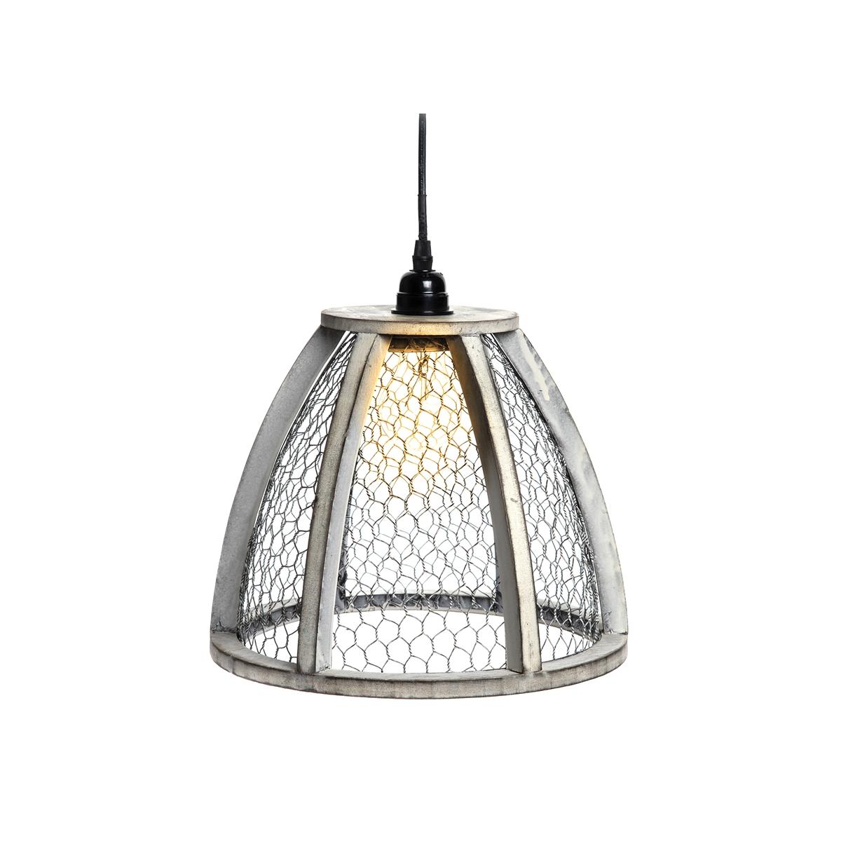 Chicken Wire Pendant Lamp | C&F Home