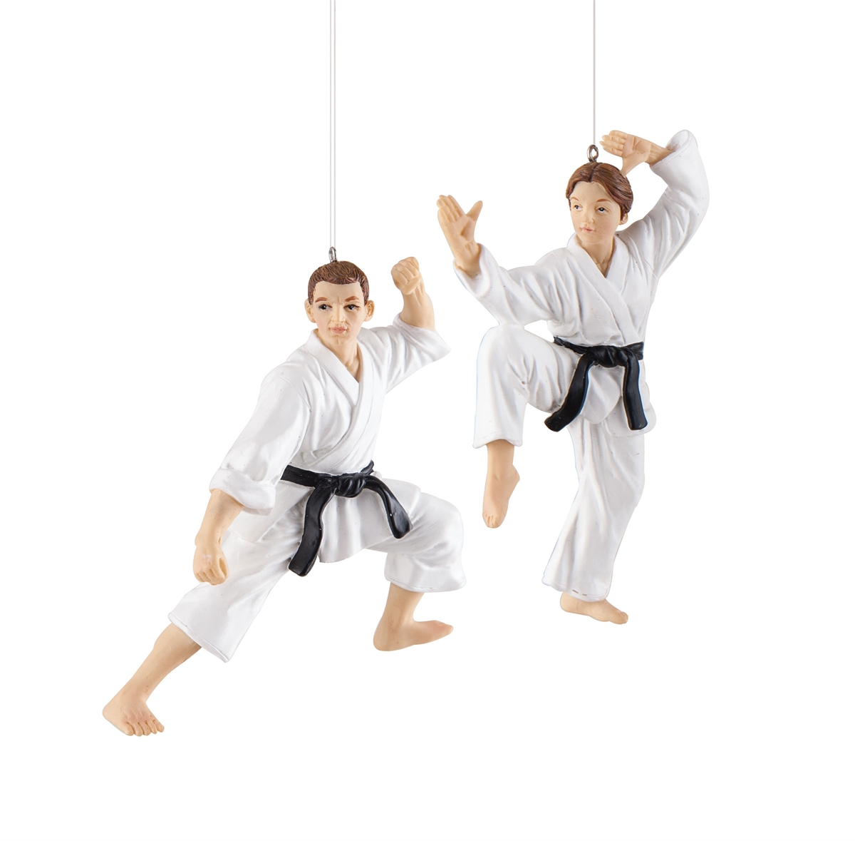 Karate ornament - Karate Class Ornament A 2