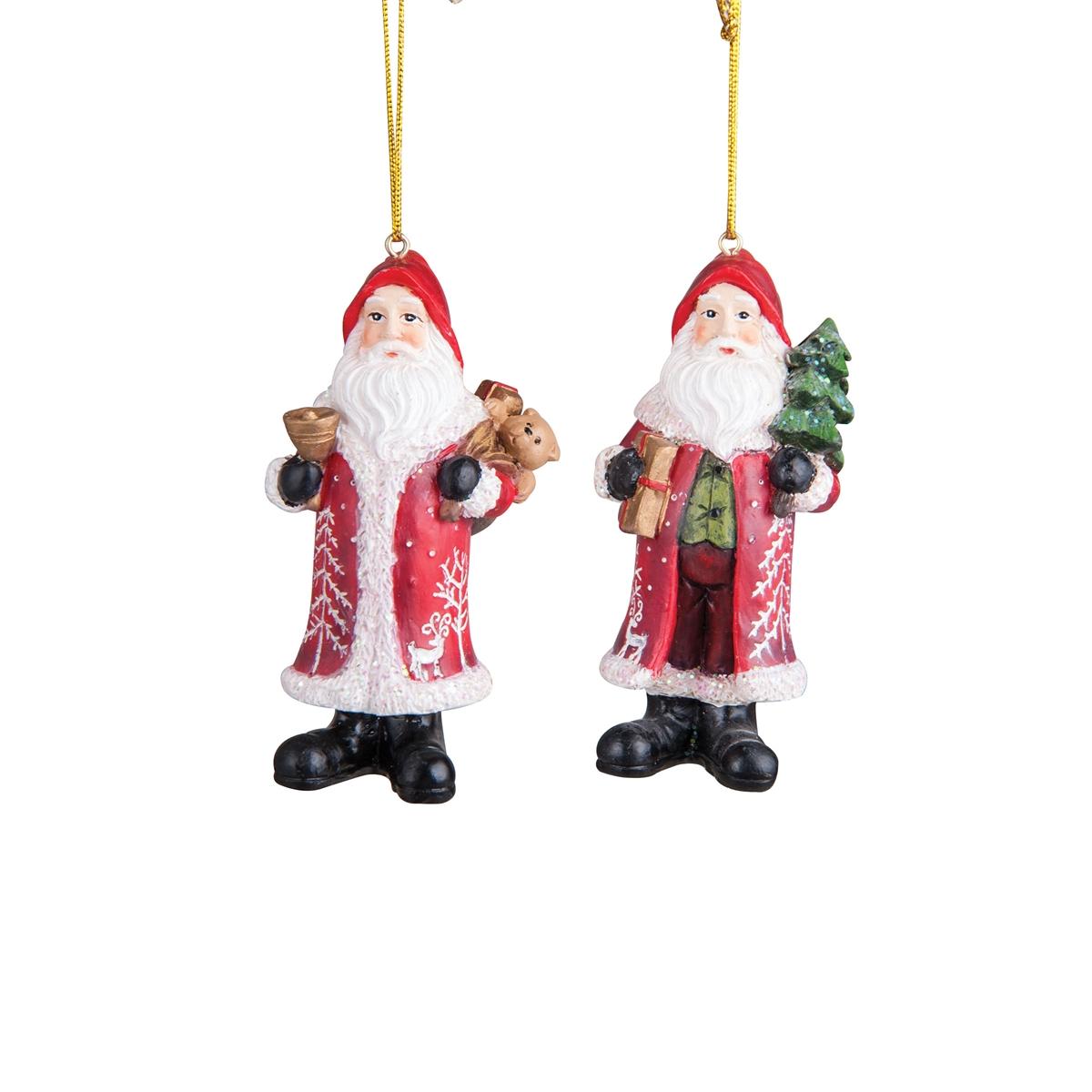Nordic Santa Ornament A 2
