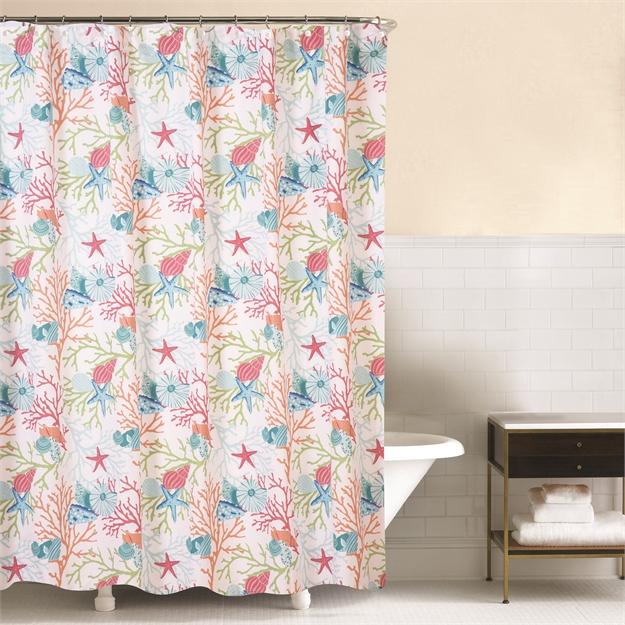 Caribbean Splash Shower Curtain | C&F Home
