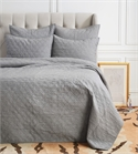 Sutton Granite King Quilt,ELISABETH YORK,Bedding,Luxury Bedding,Quilt,Luxury Quilt,Elizabeth York