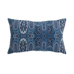 Nerina Pillow,ELISABETH YORK,Jacquard Woven,Paisley,Luxury,Decorative Pillow