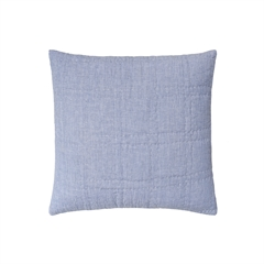 Hugh Euro Sham,carol & frank,Euro Sham,Sham,Bedding,Luxury Bedding,Chambray,Trendy