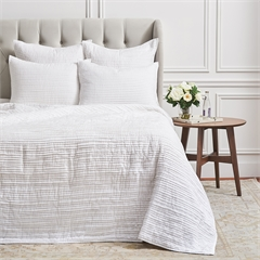 Tess Dove Queen Quilt,ELISABETH YORK,Bedding,Luxury,Tailored,Luxury Bedding,Elizabeth York