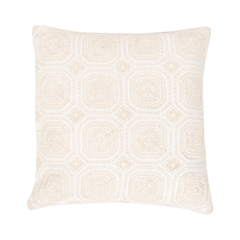 Geo Lace Pillow,ELISABETH YORK,Decorative Pillow,Luxury