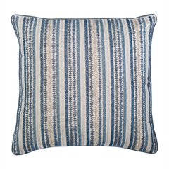Ink Stripes Pillow,ELISABETH YORK,Decorative Pillow,Luxury