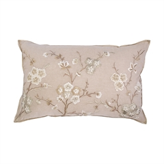 Blossom Branch Pillow,ELISABETH YORK,Decorative Pillow,Luxury