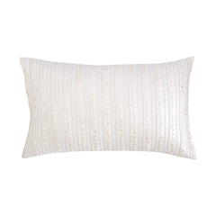 Pearl Stripe Pillow,ELISABETH YORK,Decorative Pillow,Luxury