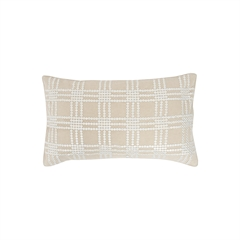 Sequin Grid Pillow,ELISABETH YORK,Decorative Pillow,Luxury